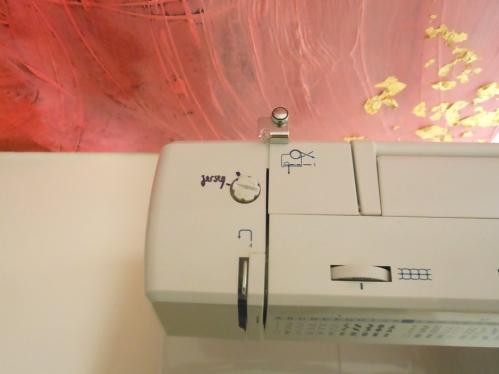 réglage jersey Silvercrest machine à coudre