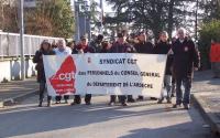 Syndicat CGT du Département de l'Ardèche