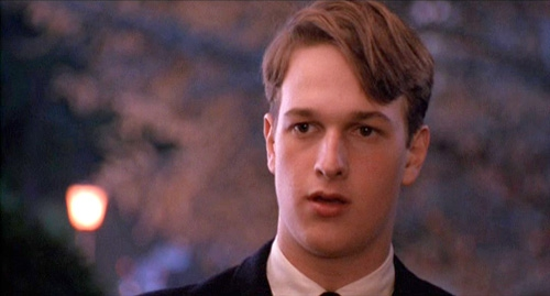 Josh Charles dans Le Cercle des poètes disparus, de Peter Weir (1989)