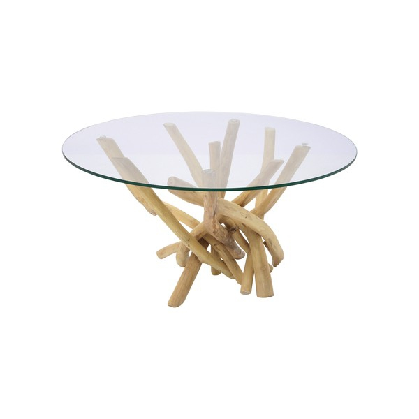 Table basse galet pas cher maison design - Table basse en bois flotte ...