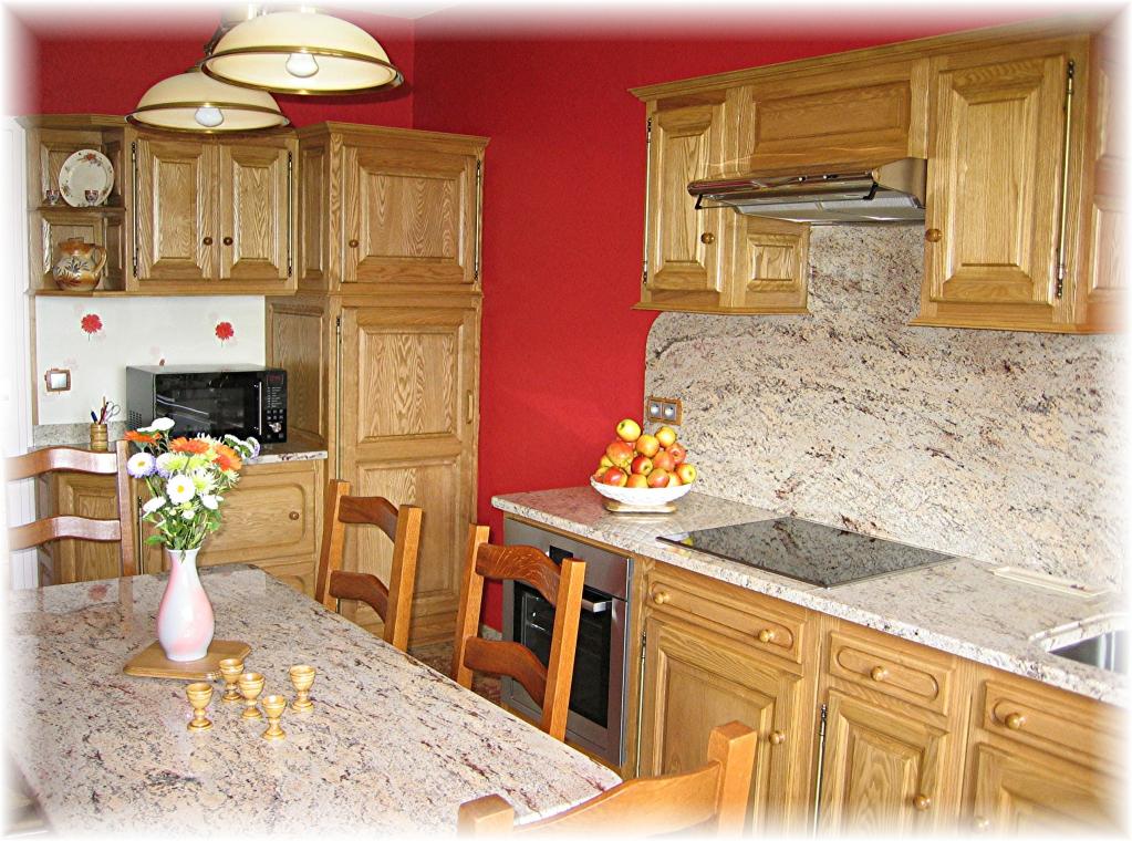 Notre cuisine int gr e bois passion for Cuisine integree bois