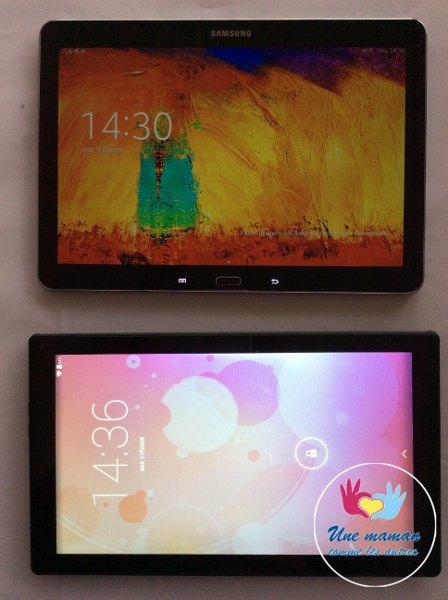 tablette listo contre samsung note 10.1.jpg