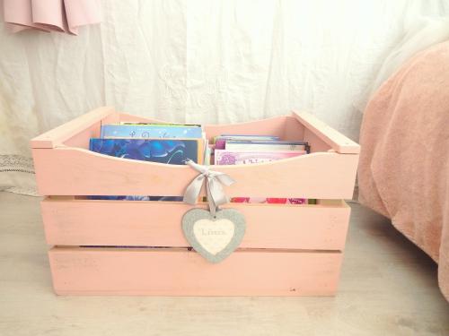 DIY un rangement pour les livres www.mon-carnet-deco.com