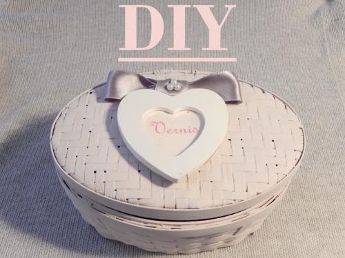 DIY  décorer une jolie boite de rangement  www.mon-carnet-deco.com