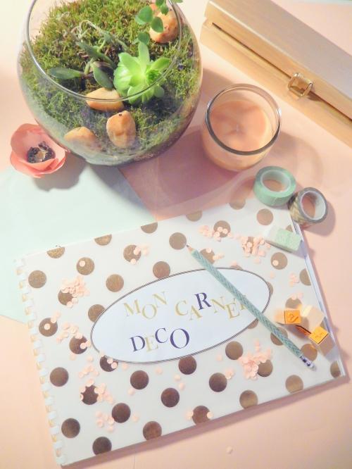 carnet d'inspiration en décoration