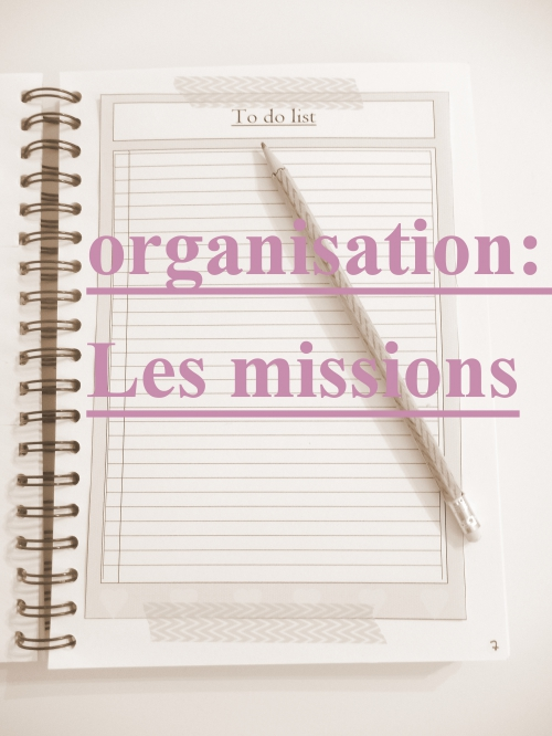organisation les missions