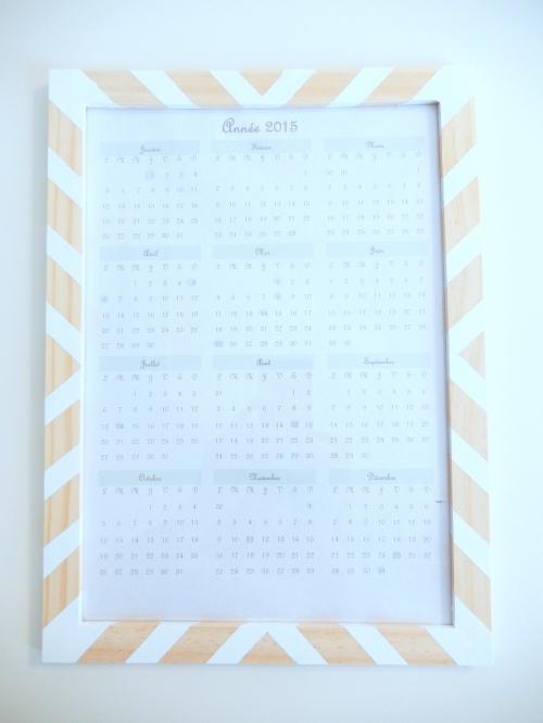 DIY un joli calendrier