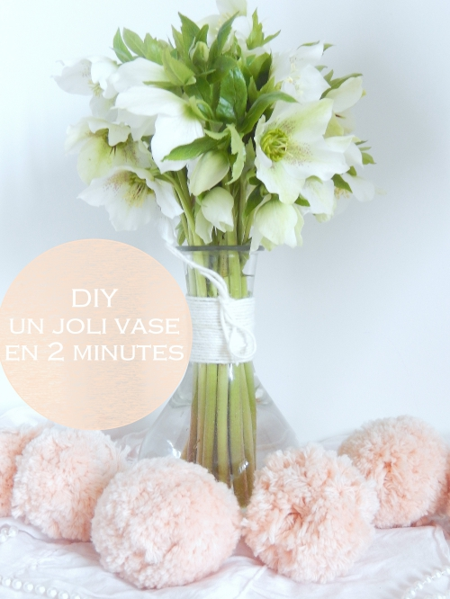 DIY: customiser rapidement et simplement un vase