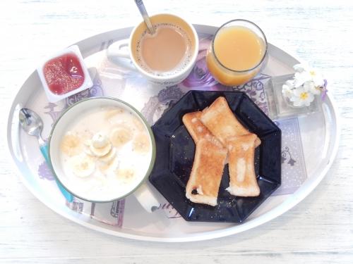 prendre un bon petit déjeuner