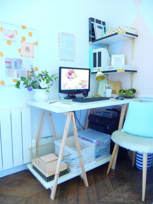 décorer son espace de travail