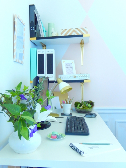 aménager un petit espace de travail