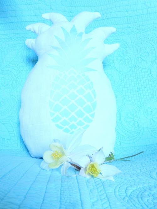 DIY un coussin ananas