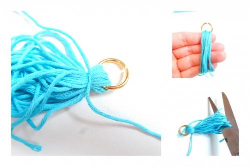 Créer un pompon de fil