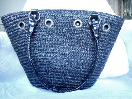 DIY customiser un panier de paille