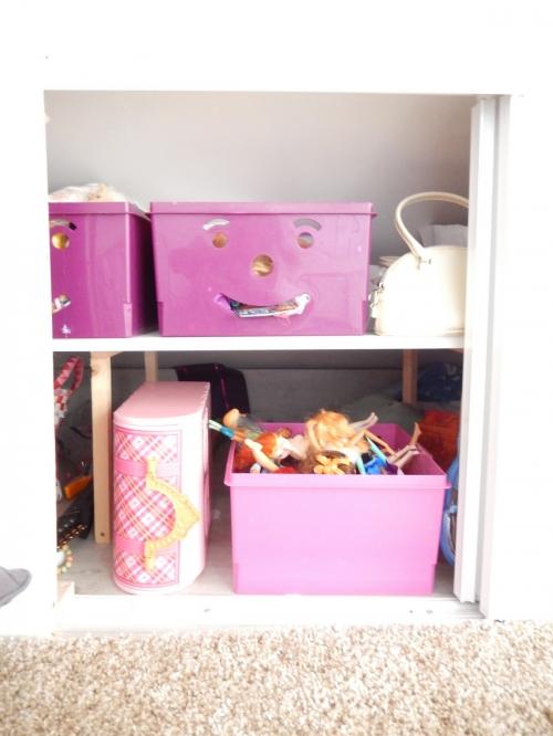 organisation une chambre d'enfant sous les combles 3