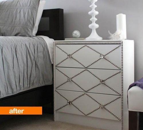 diy décorer avec des clous tapissiers 1