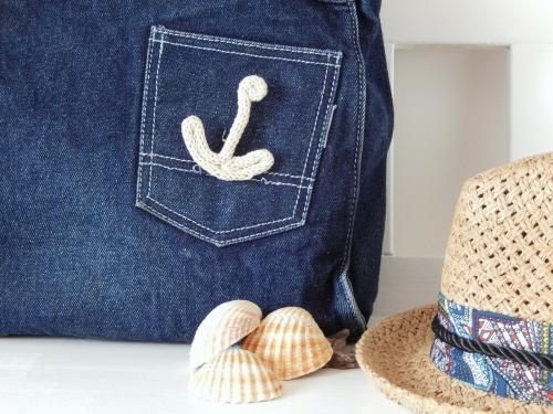 DIY une broche ancre marine