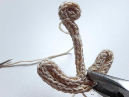 DIY une broche ancre marine 6