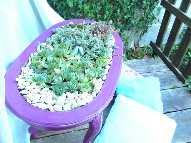 diy une table jardinière 7