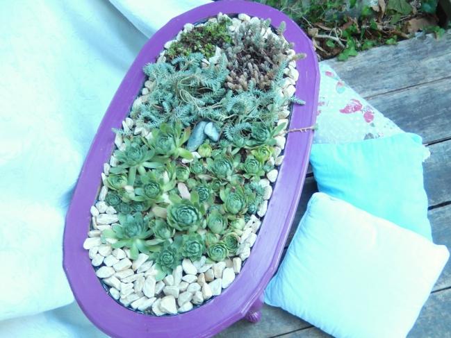 diy une table jardinière 8