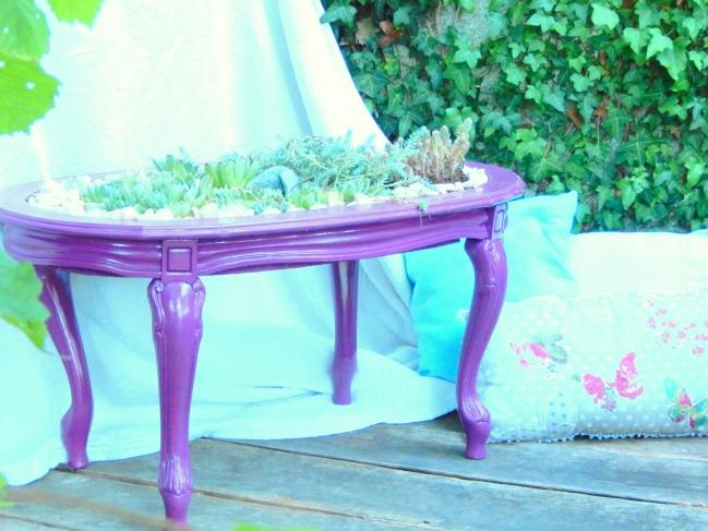 diy une table jardinière 9