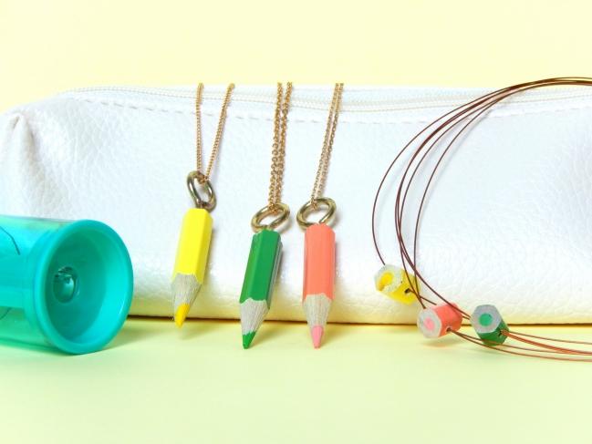 diy bijoux crayons 1
