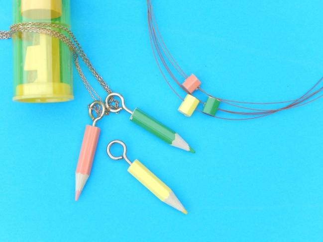 diy bijoux crayons 2
