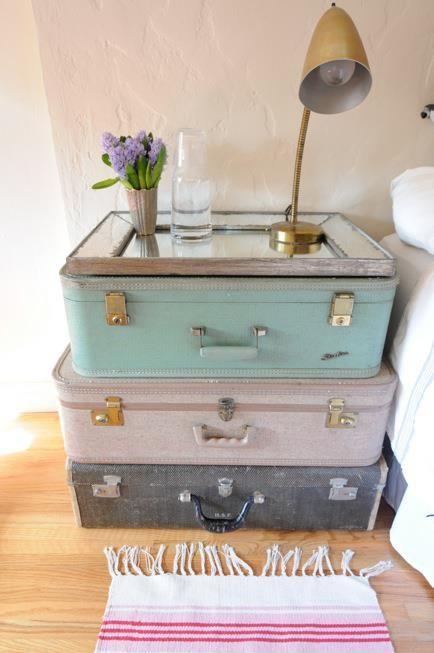la valise vintage dans la décoration 7