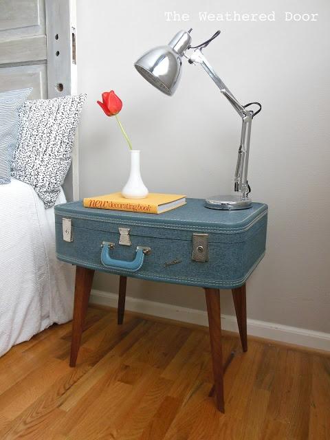 la valise vintage dans la décoration 8
