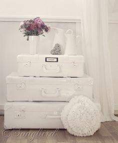 la valise vintage dans la décoration 13