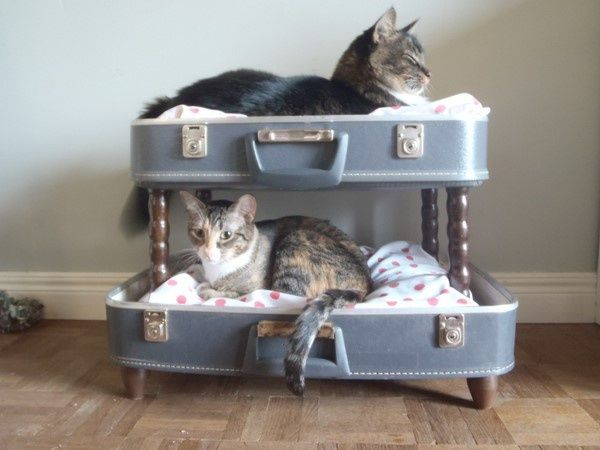 la valise vintage dans la décoration 15