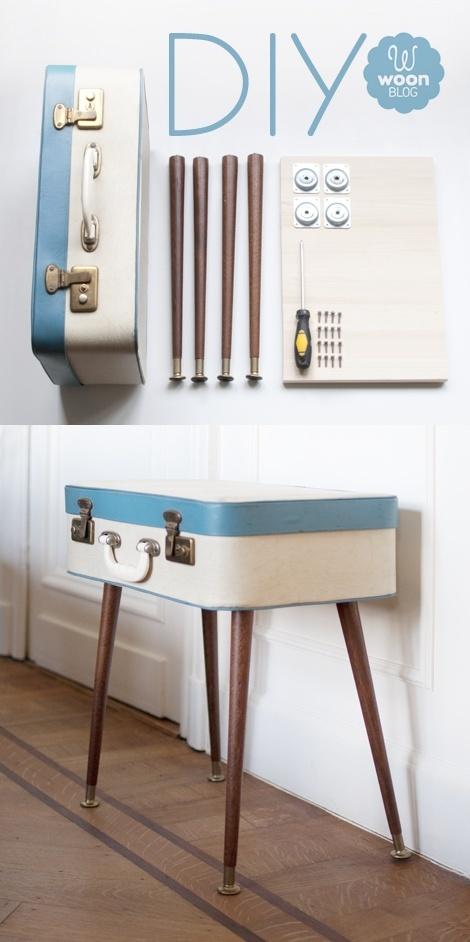 la valise vintage dans la décoration 17