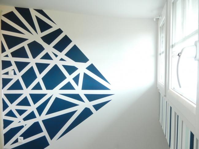 diy créer des murs graphiques 6