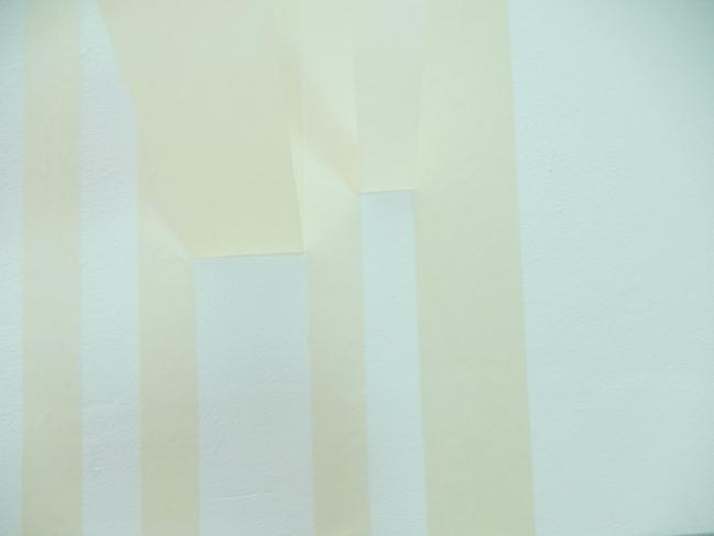 diy créer des rayures sur un mur 3