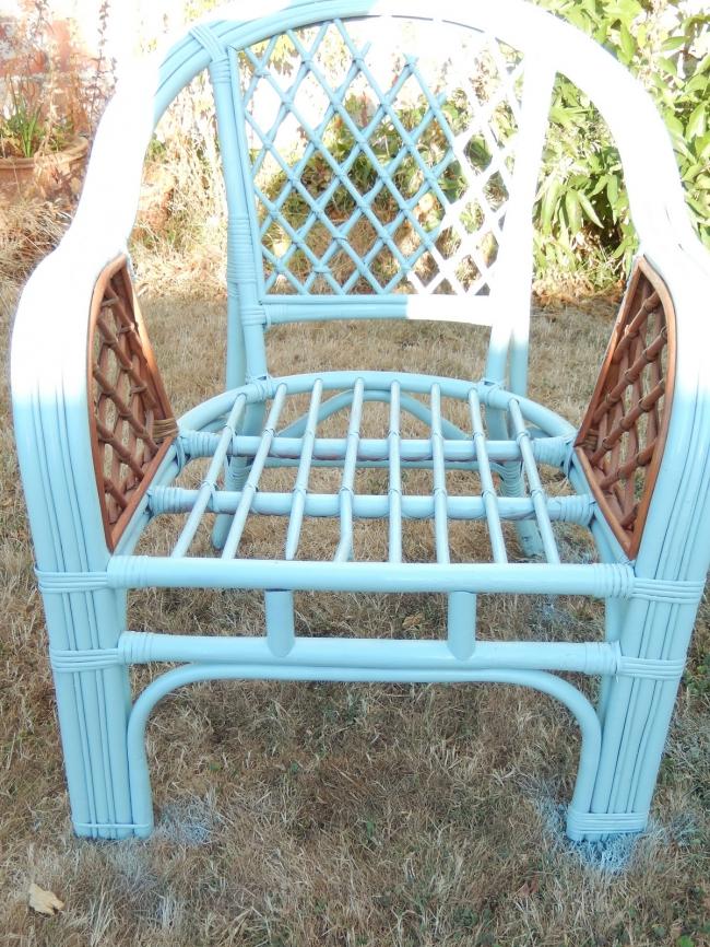 restaurer un fauteuil en osier 2