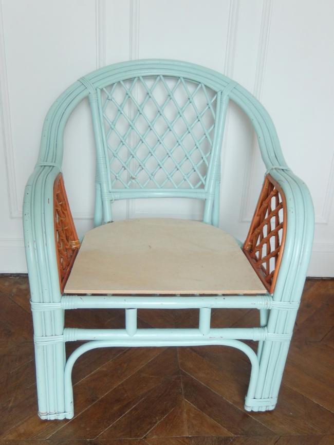 restaurer un fauteuil en osier 3