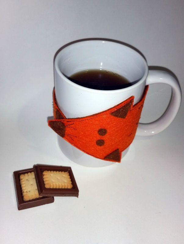 un renard pour son mug par Bonnie Parker