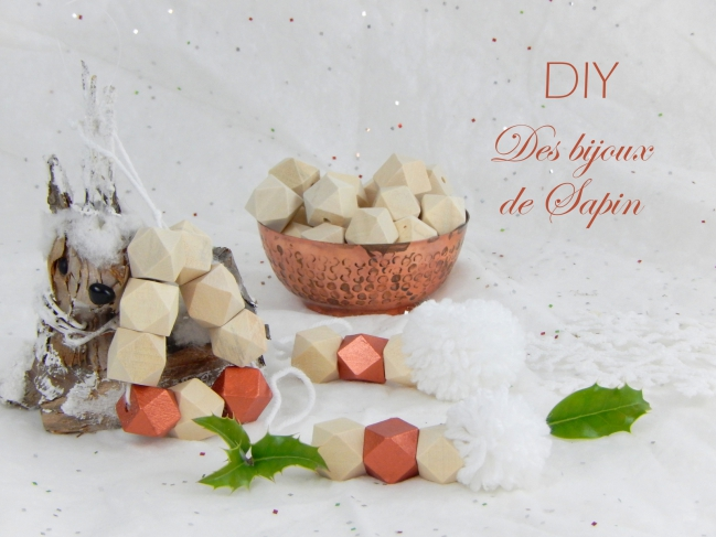 diy decorations de noel cuivrées