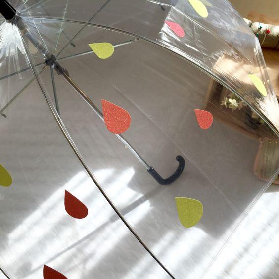 customisation de parapluie aux petites folies