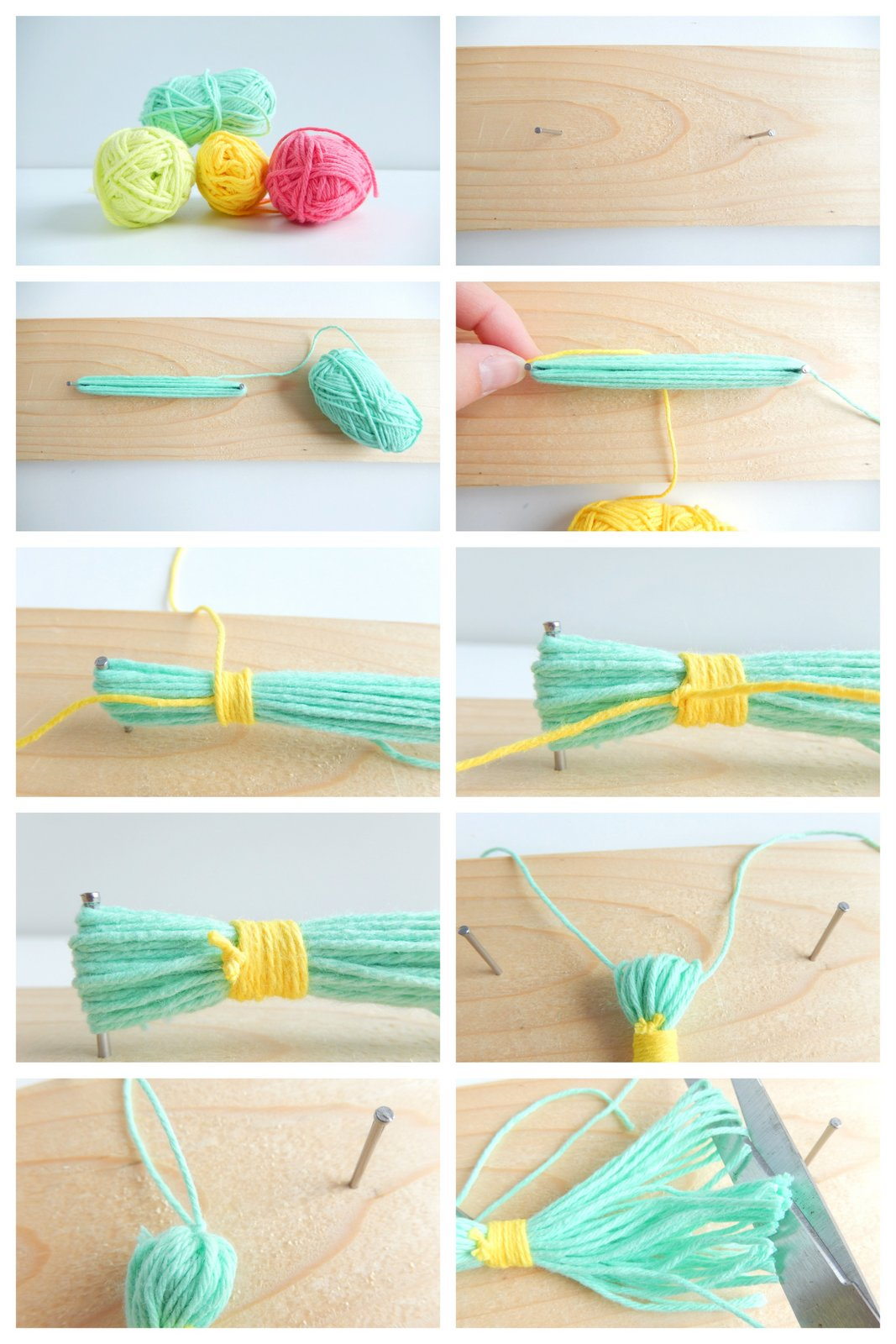 diy pompons faciles 1
