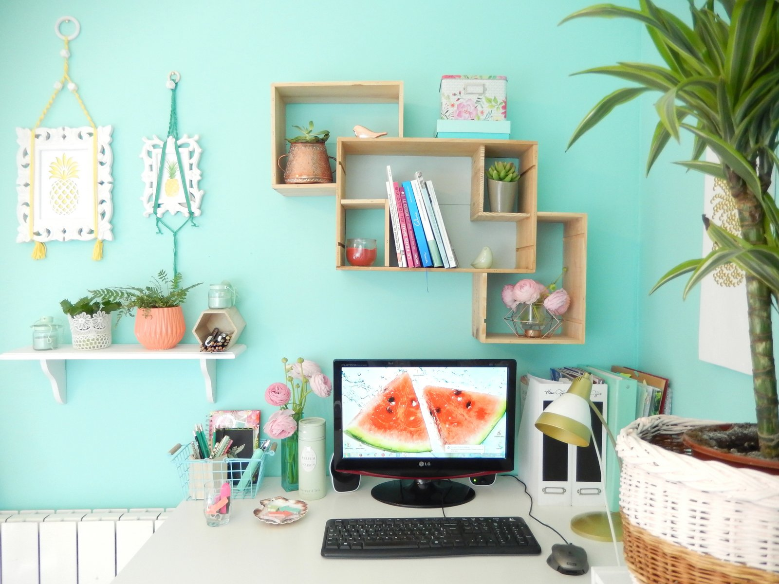 deco un bureau tropical 2