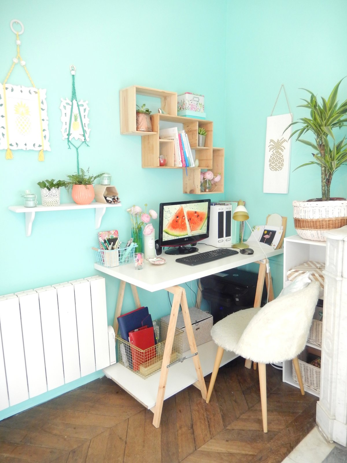 deco un bureau tropical 4