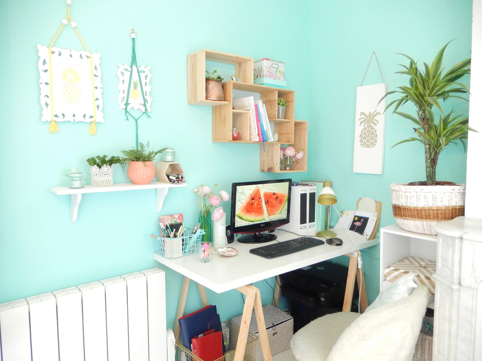 deco un bureau tropical 7