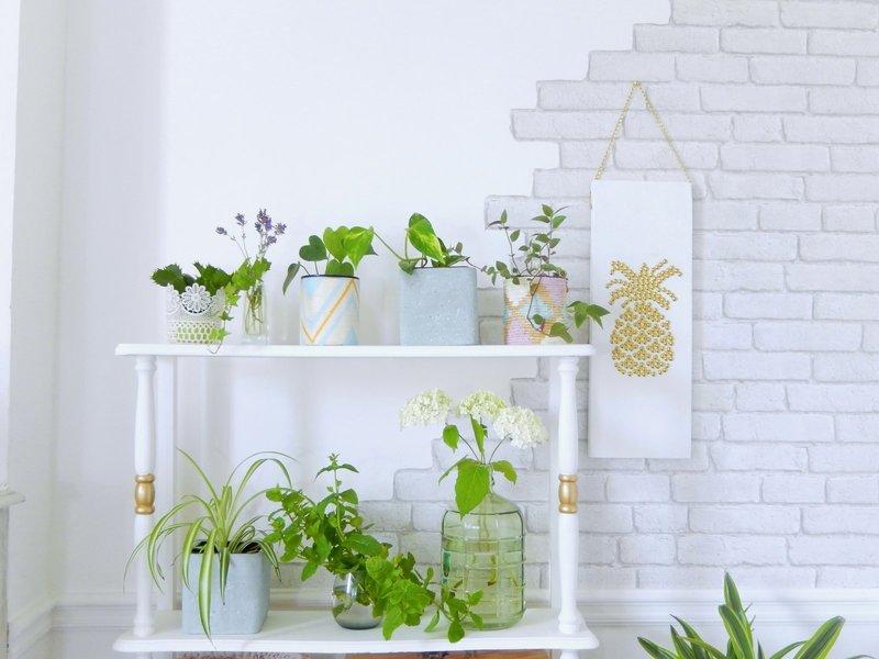 diy une etagere a plante 1