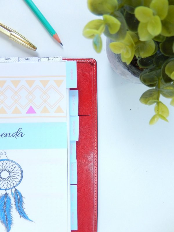 intercalaires pour planner free printable 1
