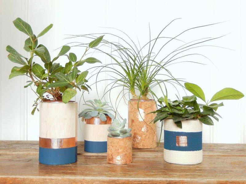 diy cache pots recup et design