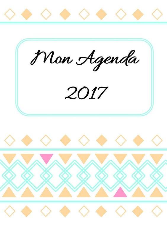 agenda 2017 a imprimer gratuitement 1