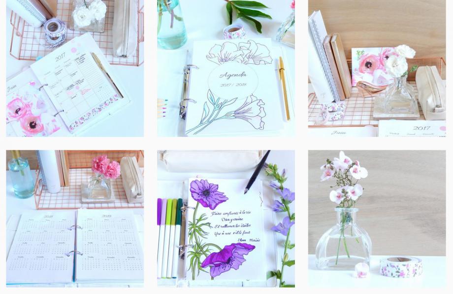 instagram @mon_planner_creatif mi bullet journal mi planner