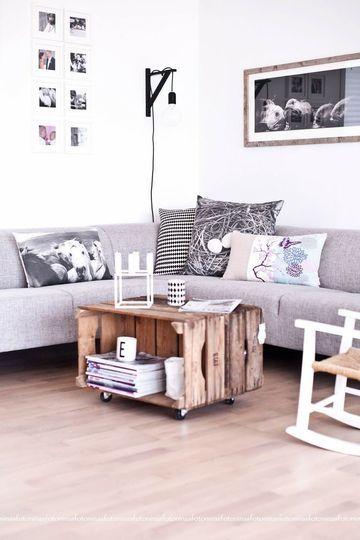 des cagettes dans toute la maison mon carnet d co diy organisation id es rangement. Black Bedroom Furniture Sets. Home Design Ideas