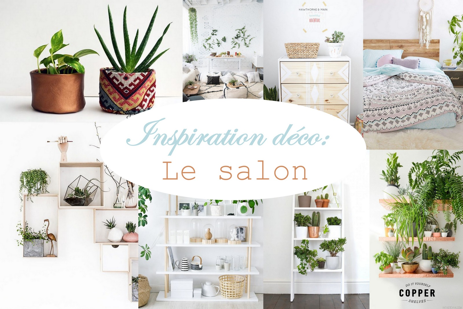 Inspiration d co le salon mon carnet d co diy organisation id es rangem - Inspiration deco salon ...